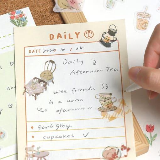 BGM Tea Time Washi Stickers