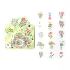 BGM Flower Bouquets Washi Stickers