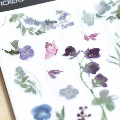 MU Print-On Stickers - Bluebells