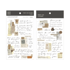 MU Print-On Stickers - Love Letters