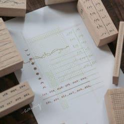 LCN Design Rubber Stamp Set - Odds and Ends Vol. 2