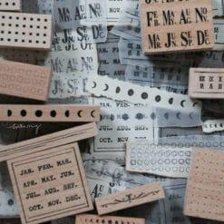 LCN Design Rubber Stamp Set - Odds and Ends Vol. 1
