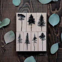LCN Design Rubber Stamp Set - Forest Vol. 1