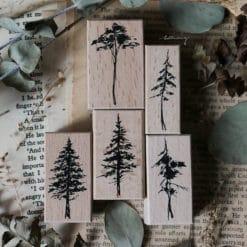 LCN Design Rubber Stamp Set - Forest Vol. 2
