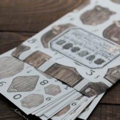LCN Design Print on stickers- Memory Keeper sticker set