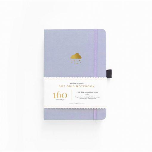 A5 Archer & Olive April Showers Dot Grid Notebook