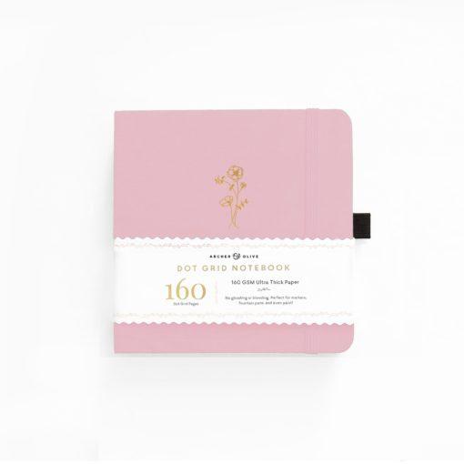Archer & Olive Awakening 8x8 Dot Grid Notebook