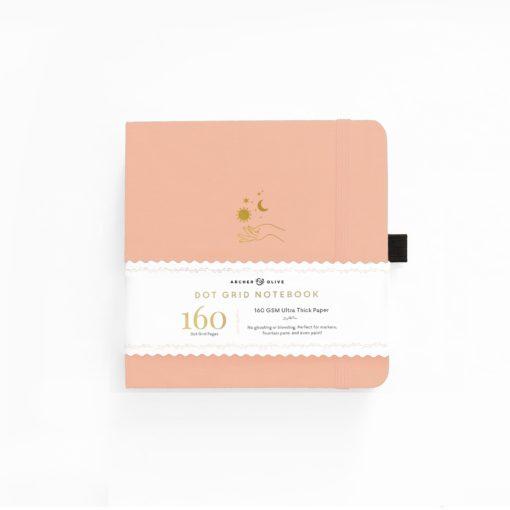 Archer & Olive Solar 8x8 Dot Grid Notebook
