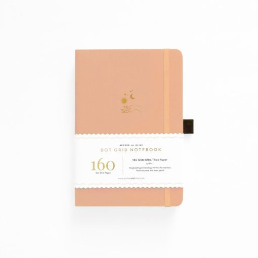 B5 Archer & Olive Solar Dot Grid Notebook