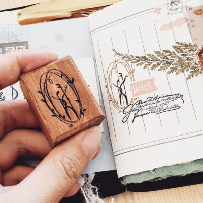 Elsie with Love Rubber Stamp - Forest Tune Series, C