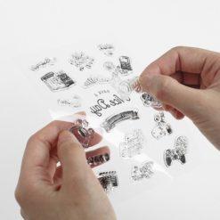BGM Vintage Elements Clear Stamp Set