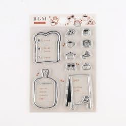 BGM Menu Stamp Set