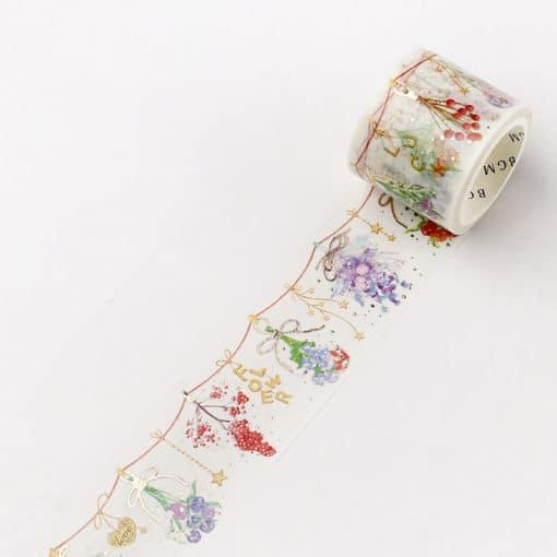 BGM Dried Flowers Washi Tape