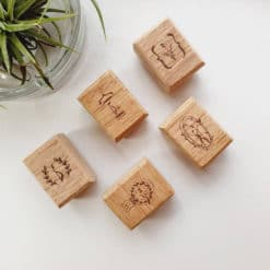 Elsie with Love Rubber Stamp - Forest Tune Series, E