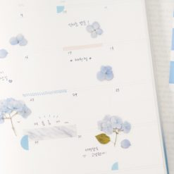 Appree Pressed Flower Stickers - Bigleaf Hydrangea