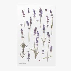 Appree Pressed Flower Stickers - Lavender