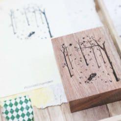 Black Milk Project Rubber Stamps - Autumn