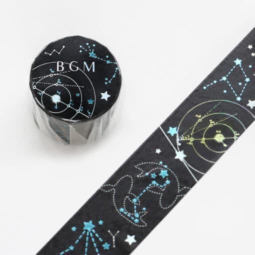 BGM Constellations Washi Tape