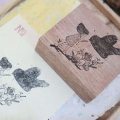 Black Milk Project Rubber Stamps - Bird Charm