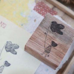 Black Milk Project Rubber Stamps - Bird stroll