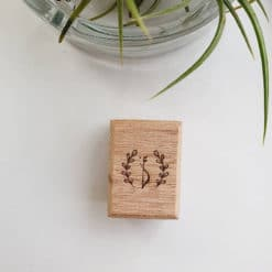 Elsie with Love Rubber Stamp - Forest Tune Series, D