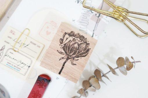 Black Milk Project Rubber Stamps - Floral tub