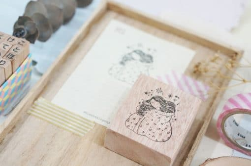 Black Milk Project Rubber Stamps - Goodnight