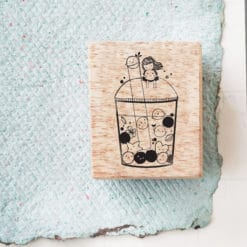 Black Milk Project Rubber Stamps - Happy Boba
