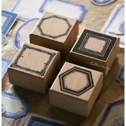 LCN Design Rubber Stamps - Labels stamp set A