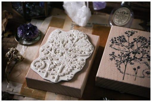 LCN Design Rubber Stamp - Dried Flower, set A