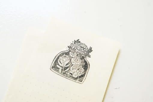 Black Milk Project Rubber Stamps - Jar of Blooms