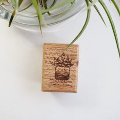 Elsie with Love Rubber Stamp - Kakpoot Series no. 1