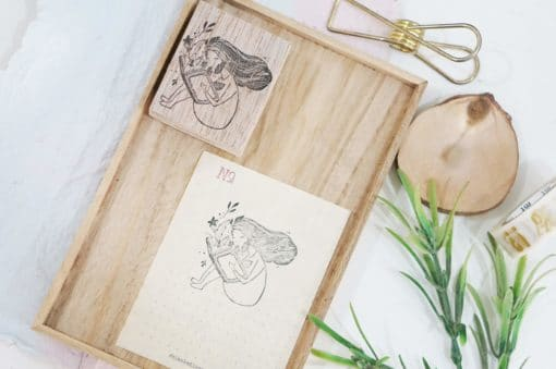 Black Milk Project Rubber Stamps - Magical Book