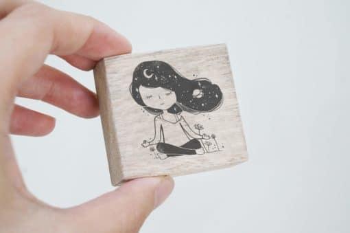 Black Milk Project Rubber Stamps - Meditate