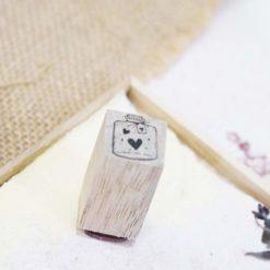 Black Milk Project Rubber Stamps - Mini jar love