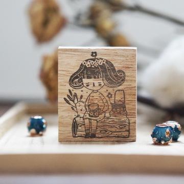 Black Milk Project Rubber Stamps - Miss Lulu Tea