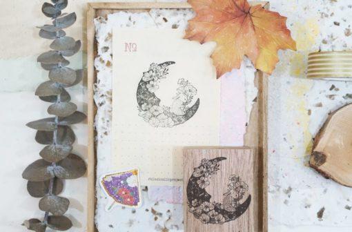 Black Milk Project Rubber Stamps - Moon Rabbit
