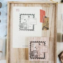 Black Milk Project Rubber Stamps - Postal Daydream