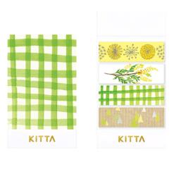KITTA Collabo Washi Stickers - A Walk
