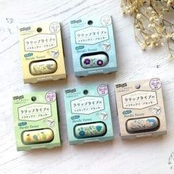 Kokuyo Karu-Cut Washi Tape Cutter Limited Edition Nordic Forest