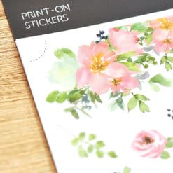 MU Print-On Stickers - Flowers' Whispers