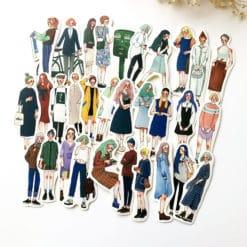 La Dolce Vita Sticker set (30pcs) - Stationery Girls
