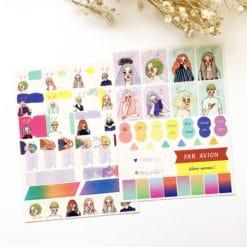La Dolce Vita - Planner Stickers