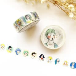La Dolce Vita Washi Tape - Girl in a Circle