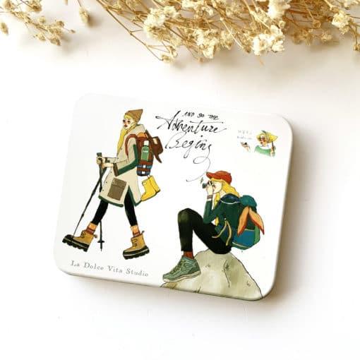 La Dolce Vita Sticker set (30pcs) - Bon Voyage Girls