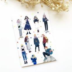 La Dolce Vita Sticker Release Paper Notebook