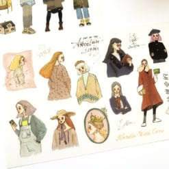 La Dolce Vita Print-on Stickers - Life is Beautiful
