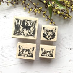 Catslife Press Rubber Stamp - Cats