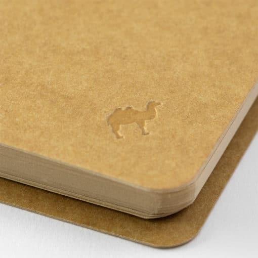 Traveler's Company Spiral Ring Notebook - A5 Slim Kraft