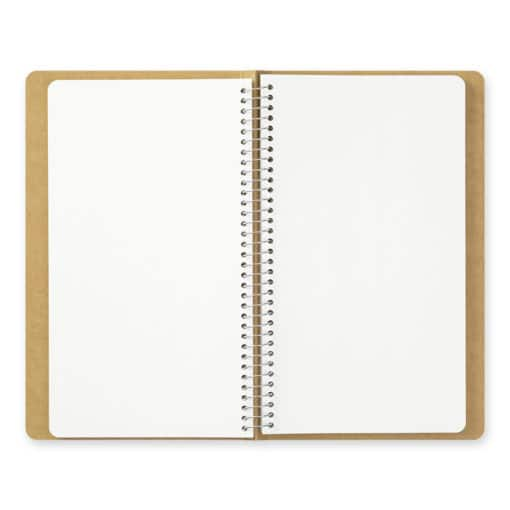 Traveler's Company Spiral Ring Notebook - A5 Slim White